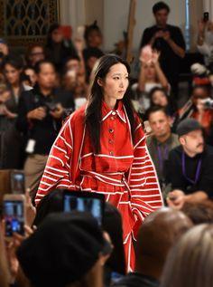 Ji Won Choi, Ones to Watch Fashion Scout London, Fashion Show