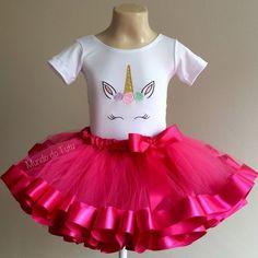 740f241569 Temas de festa infantil para menina. Unicórnio. Fantasia. Body e saia tutu.