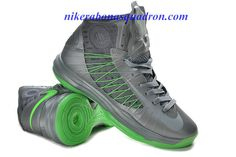 huge selection of ec10d 155af Nike Lunar Hyperdunk Wolf Grey Metallic Silver Electric Green 535359 103 01