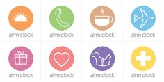 Colorful Labels only in the new Alrm Clock now available on App Store.  Download: http://bit.ly/1u3MDws