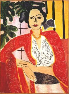 The Amber Necklace - Henri Matisse, 1937
