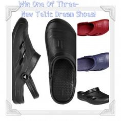 Win one of three Telic Dream Shoes and Ice Embellishment!