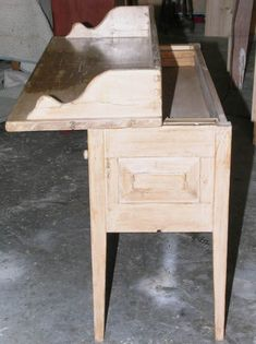 secret compartment in console table