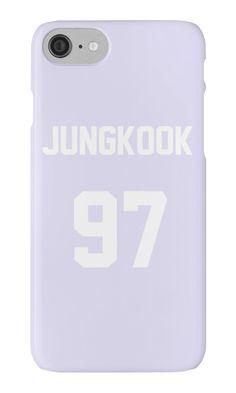«BTS JUNGKOOK Jersey Design» de hallyuchild Kpop Phone Cases, Iphone Cases, Iphone 11, Bts Jungkook, Lps, K Pop, Cute Sweatpants Outfit, Tumblr Iphone, Blackpink And Bts