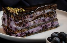 Paleo áfonyatorta | Mai Móni Healthy Cake, Healthy Recipes, Paleo Sweets, Fitness Diet, Oreo, Sweet Tooth, Meals, Desserts, Food