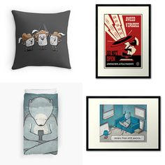 I liked the 'Techies' room on Redbubble's Dream Room Sweepstakes! You can win free stuff too by sharing your favorite art pieces. Visit http://www.redbubble.com/p/147-win-your-dream-room for more amazing designs! #redbubble #dreamroom