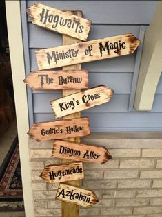 Harry Potter Party Sign | Harry Potter Party Ideas