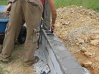 DIY Stone Foundation