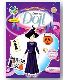 Chitra Gogo Kids Magnetic Dress Up Doll - Halloween