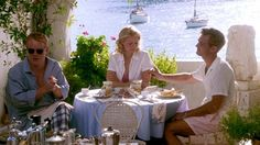"""The Talented Mr. Ripley, 1999 - """"The Riviera clothes, the wooden sailboat, the jazz clubs, the Vespas: The whole thing is a perfect picture of American expat life in 1960s Italy."""" —Brooke Bobb, Vogue.com Living Writer"""