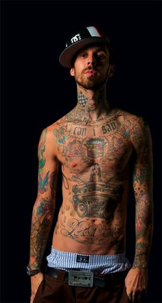travis barker. i think he's sexy for some odd reason... maybe because of his drum skills... who knows..