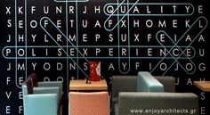 the key letter - wallpaper designed by Paraskevi Papasotiriou of enjoy architects