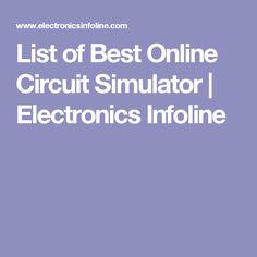 Free Circuit Simulator-Circuit Design and Simulation Software List ...