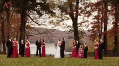 Sue and Ken's Fall Wedding @ Saint Clements Castle