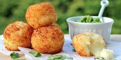 Yuca Balls Stuffed with Cheese (Bolitas de Yuca con Queso) Recipe