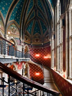 St. Pancras Renaissance Hotel, London - I wonder how many Marriott points I'm going to have to save to stay there. It is a wonderful Victorian Gothic building!