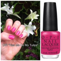 """OPI """"Kiss Me On My Tulips"""" from the Holland collection"""