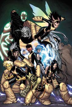 New X-men  Novos X-men