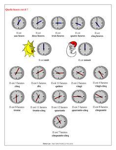 FLE - Leçon 3 - Quelle est la Date d'Aujourd'hui - Page 2