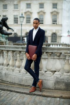 Street Style at London Fashion Week.  Marcus Dawes for The #LFW Daily. (www.marcusdawes.com) #Fashion