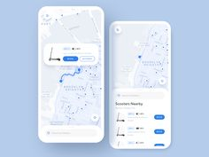 Electric Scooter Share App Animation designed by Shakuro. Connect with them on Dribbble; the global community for designers and creative professionals. Mobile Ui Design, App Ui Design, Map Design, Interface Design, Design Taxi, Scooters, App Map, Taxi App, Bus App