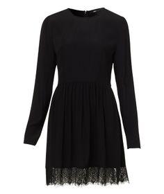 Sportsgirl Lace Hem Mini Dress