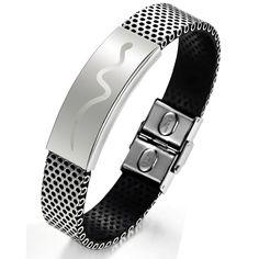 Titanium Steel Men's Bracelet