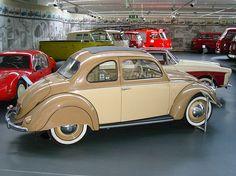 Early Pretzel Window: 1952 Volkswagen Beetle