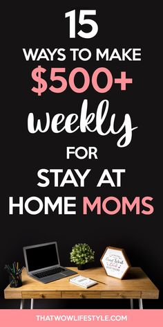 Stay at home moms jobs to make extra money online, real and legit stay at home jobs for moms that pay well, legitimate work at home jobs for moms to make money on the side Cash From Home, Work From Home Jobs, Make Money From Home, Way To Make Money, Get Paid Online, Earn Money Online, Online Jobs, Home Based Business, Business Ideas