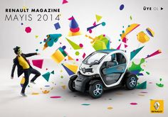 Saved by Kristian Saliba (kristian). Discover more of the best Renault, Twizy, Campaign, Fubiz, and Abstract inspiration on Designspiration Bmw I3, Free Magazines, Branding, Digital Trends, Abstract Images, Texture Art, Visual Communication, 3d Design, Graphic Design Inspiration