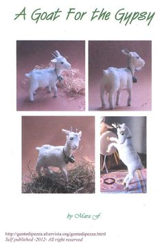 Rag Goat epattern pdf file by Gentedipezza on Etsy. , via Etsy.  #goatvet