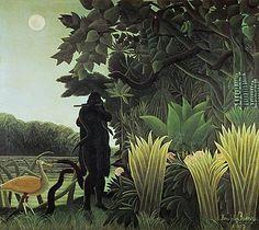 Douanier Rousseau - Art Naïf - La Charmeuse de Serpents