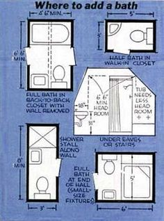 Nice Concept for Small Bathroom Floor Plans Pictures - Small Room Decorating Ideas