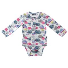 Curious cumulus baby body | Roo clothing