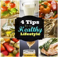 4 Tips to a Healthy Lifestyle - Want to get healthy? These 4 tips help keep the prospective while on a budget. Also, find some great resources!