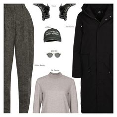 """""""Accurate"""" by amberelb ❤ liked on Polyvore featuring Dr. Denim, Hillier Bartley and Gucci"""