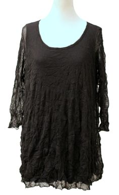 Layered Black Tunic – Marjory Warren Boutique
