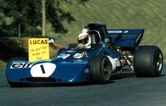1972 GP Wielkiej Brytanii (Jackie Stewart) Tyrrell 003 - Ford