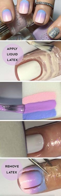 Unbelievably Brilliant French Manicures To Do At Home - Ombre Nail Art Tutorial- Awesome DIY Tutorials and Step By Step Guides on How To Do the Perfect French Manicure - Articles on Easy Nailart Style Designs and Polish Products - Get Your Nails Looking Like They Came Out of The Top Salons - thegoddess.com/french-manicures-at-home