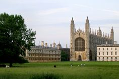 """King's College Chapel from """"The Backs"""""""
