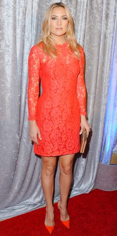 Look of the Day - October 29, 2014 - Kate Hudson in Temperley London from #InStyle