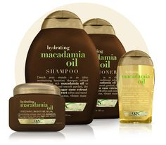 Nutrient-rich macadamia oil + exotic sugar cane extract + bamboo extract = one ultra- moisturizing formula. When your hair is parched, this yummy blend will bring back the shine. (Best Shampoo For Shine) Macadamia Oil, Natural Hair Care Tips, Natural Hair Styles, Curly Hair Styles, Hair Mayonnaise, Balayage Caramel, Diy Masque, Dip Dye Hair, Rides Front