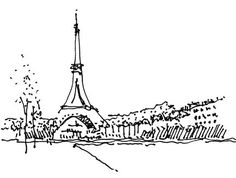 How Sydney can learn from Paris, sketched out by David Holm of Cox Richardson