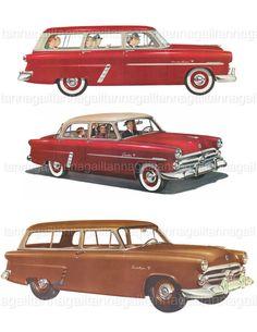 Retro Clipart 1950s Family Mid Century Modern by DigitalFunhouse ...