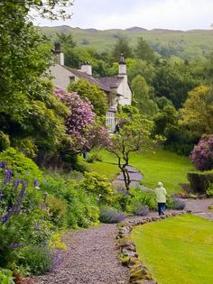 Rydal Mount (Lake District, UK) —Wordsworth's home [photographer unknown]