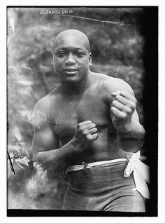 1908: First African American heavyweight boxing champion: Jack Johnson.