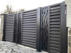Home Gate Design, House Main Gates Design, House Fence Design, Exterior Wall Design, Fence Gate Design, Steel Gate Design, Indian Home Design, Front Gate Design, Railing Design