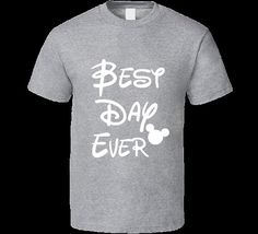 Mickey Best Day Ever Slouchy Tee-disney Vacation by musictshirt
