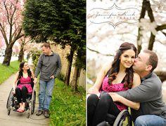 Wheelchair couple's photography