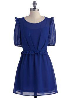 The Sheer Winner Dress, #ModCloth$24